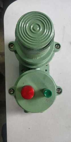 FLAMEPROOF HOOTER WITH INDICATOR & ACKNOWLEDGEMENT