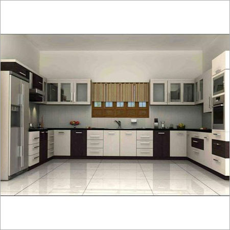U Shaped Modular Kitchen Service