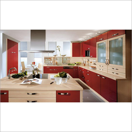 G Shape Modular Kitchen Service