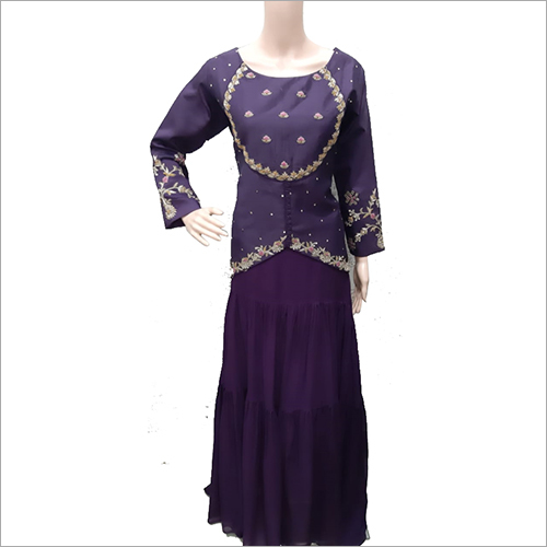 Ladies Traditional Floor Length Dress