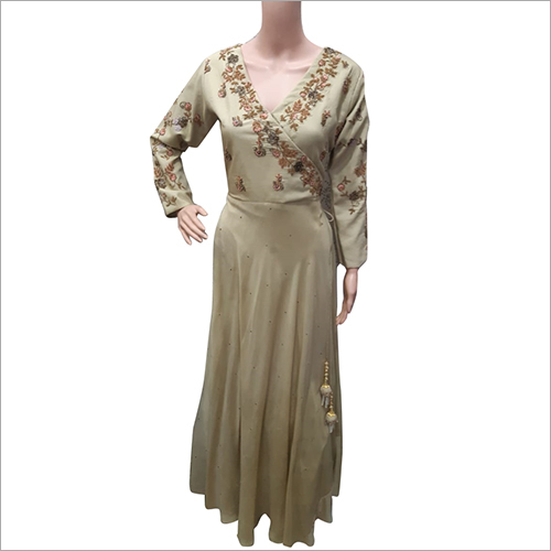 Ladies Embriodered Gown