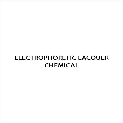 Electrophoretic Lacquer Chemical
