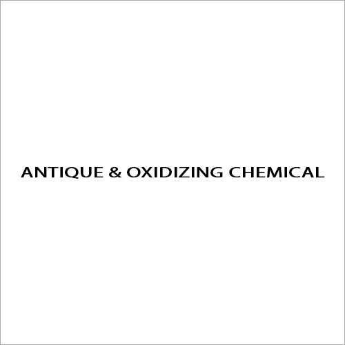 Antique And Oxidizing Chemical