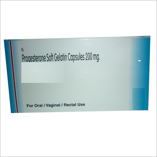 200mg Progesterone Soft Gelatin Capsules