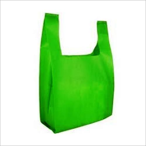 Green Non Woven Vest Bags