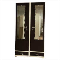 Double Door Dressing Steel Almirah
