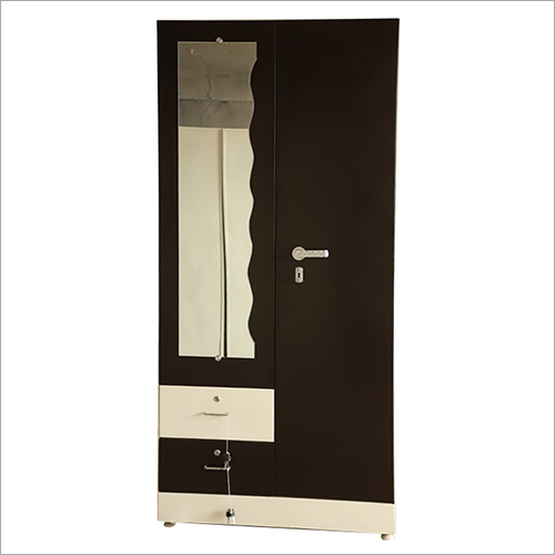 Single Door Designer Steel Almirah