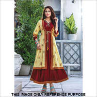 Ladies Designer Long Shrug Kurti