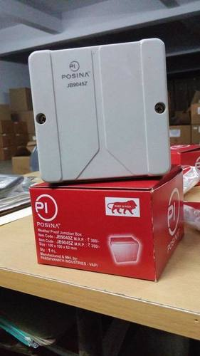 Square Poly Carbonate Junction Box