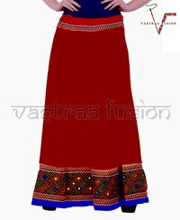 Ladies Embroidery Skirts