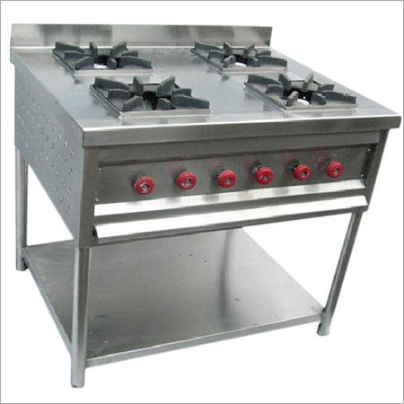 4 Burner Commercial Stove