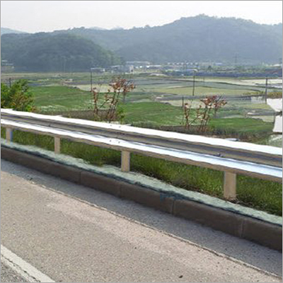 Steel Beam Crash Barrier
