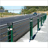 Wire Rope Safety Barrier