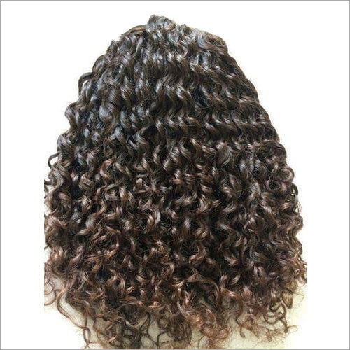 Ladies Curly Hair