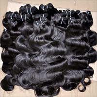 Wavy Human Black Hair