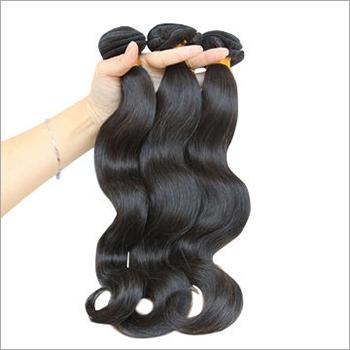 Bulk Wavy Weft Hair