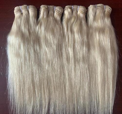 Light Brown Weft Hair