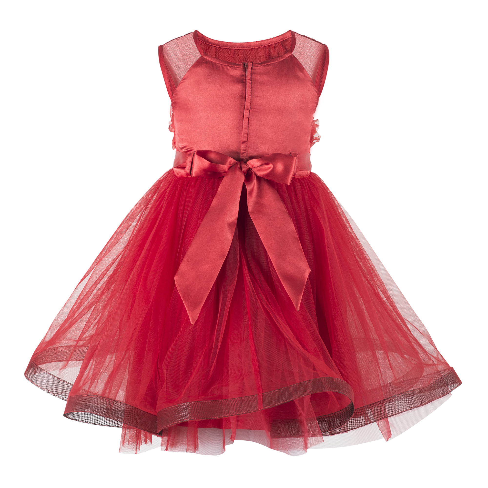 Red Party  Frock