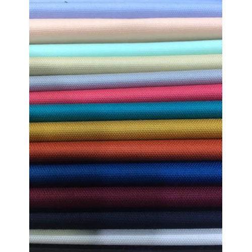 Plain Cotton Dobby Fabric