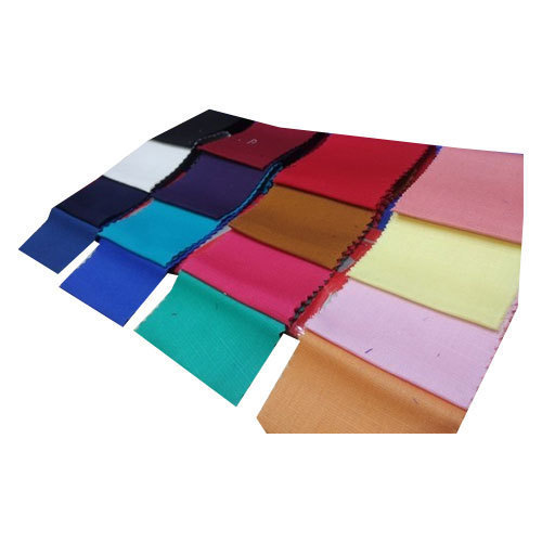 Satin Slub Plain Fabric