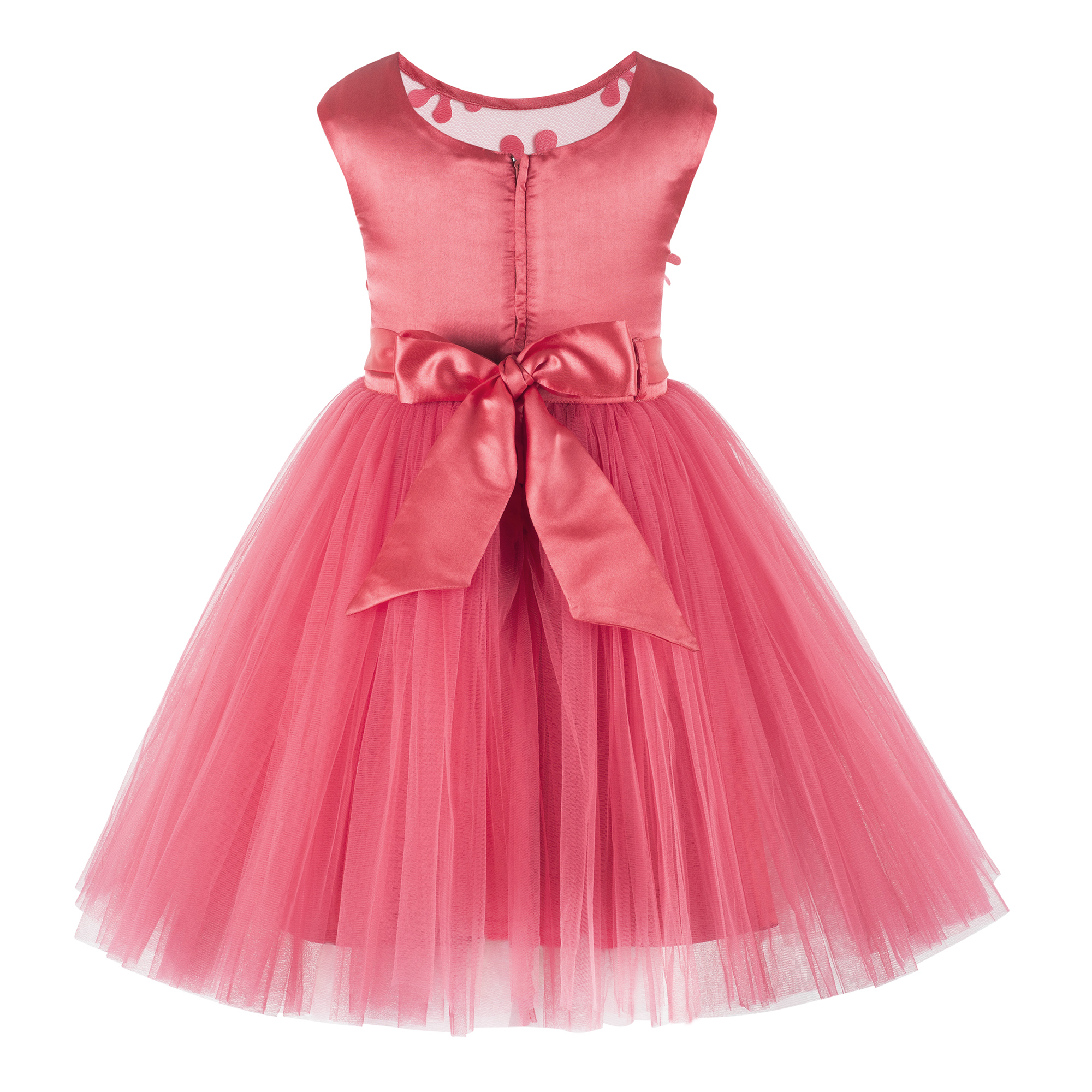 Coral Party  Frock
