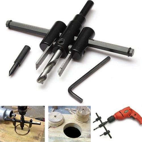 447 Adjustable Circle Hole Saw Drill Bit CutterCircle cutter