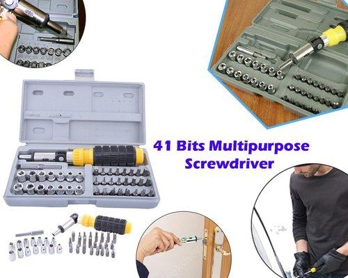 423 Socket and Screwdriver Tool Kit Accessories (41 pcs)