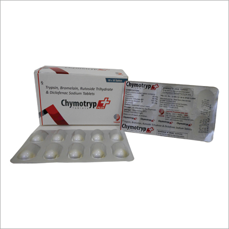 CHYMOTRYP PLUS 10X10 TABLETS