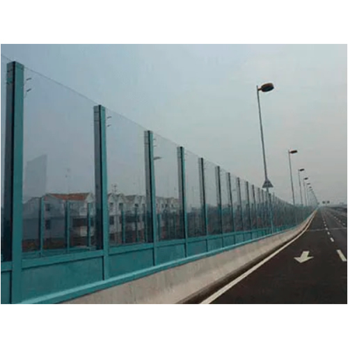 TEMPERED GLASS NOISE BARRIER