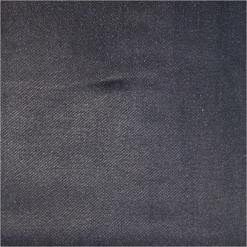 Black Knitted Denim Fabric