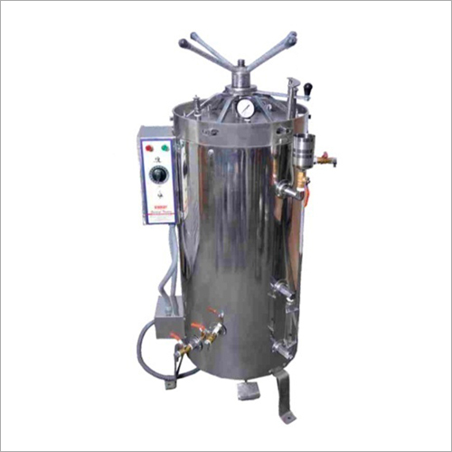 Vertical High Pressure Steam Sterilizer