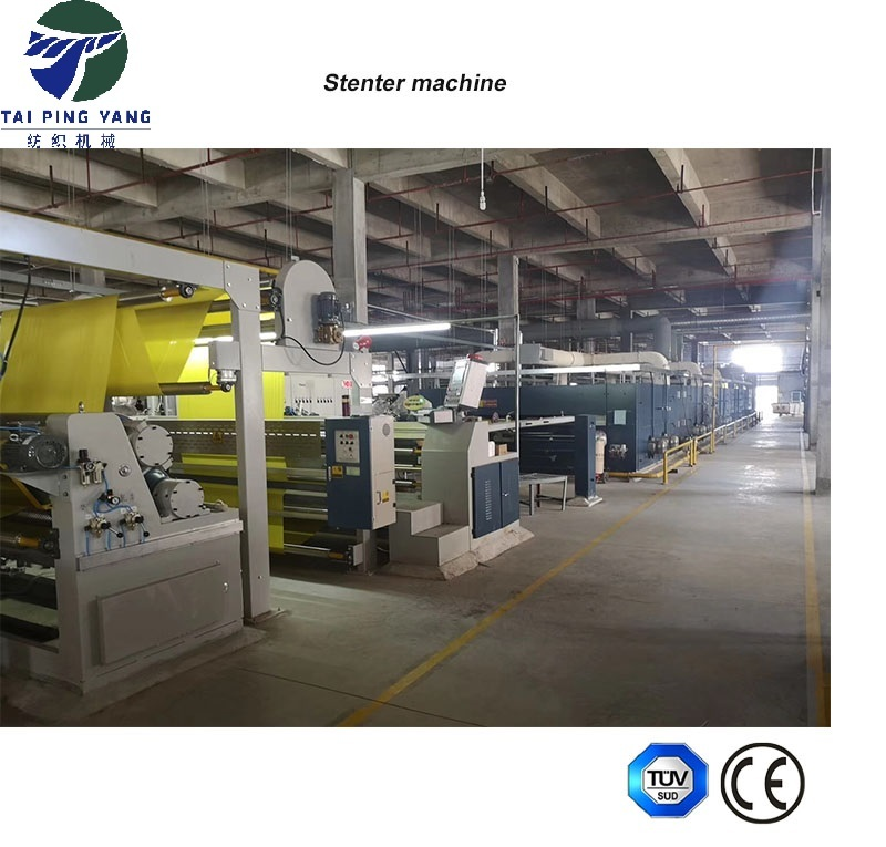 Textile  Type Hot Air Stenter Setting Machine