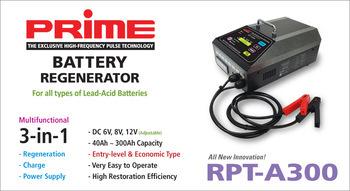 RPT-A300 Battery Regeneration System