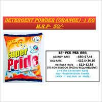1 KG Orange Detergent Powder