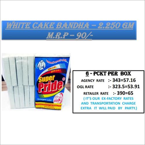 250 GM White Cake Bandha
