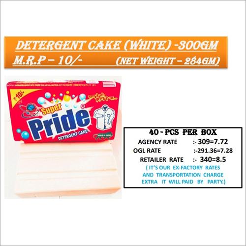 300 GM White Detergent Cake