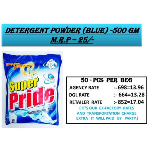 500 GM Bluee Detergent Powder