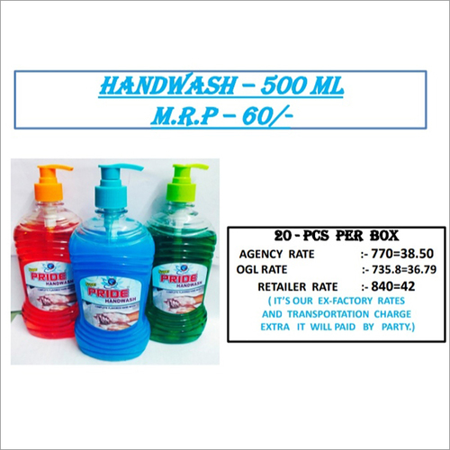 500 Ml Handwash