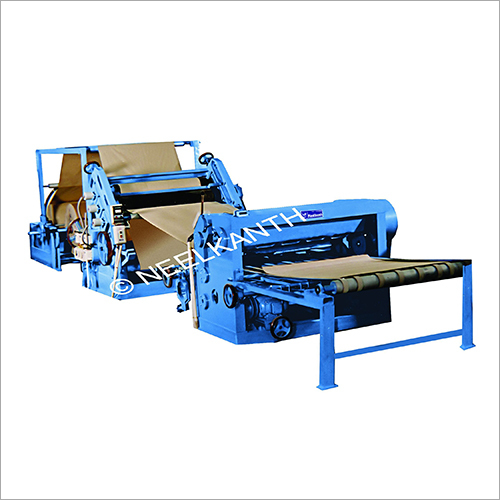 Combined Corrugation And Sheeter Machine