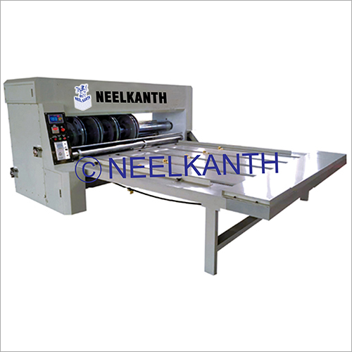 Chain Feeding Type Corrugated Cardboard Slotting Machine