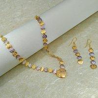Imitation Jewellery Two-tone Necklace Set