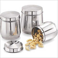 STAINLESS STEEL  ALL TIME 3PC SET Multipurpose Canister