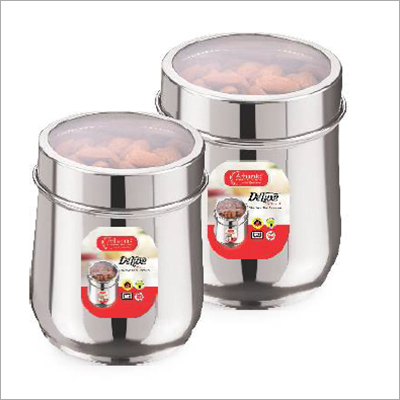 STAINLESS STEEL  DELUXE Tea Or Coffee Multipurpose Canister