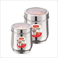 STAINLESS Steel  DELUXE Sugar Canister