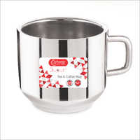 STAINLESS STEEL ELEGANT   PLAIN TEA MUG