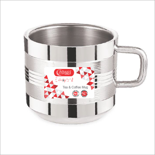 stainless steel  ELEGANT TEA PLAIN MUG