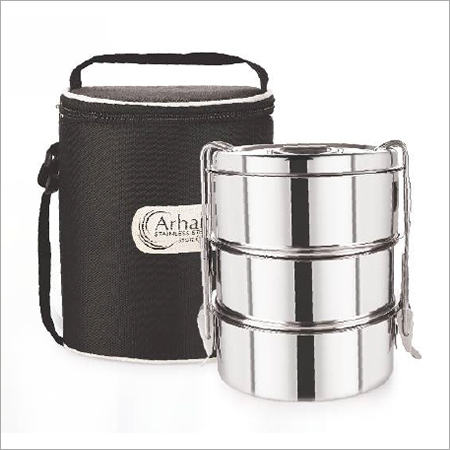 STAINLESS STEEL BENTO 3 CONTAINER