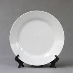 8 Inch White Ceramic Plate