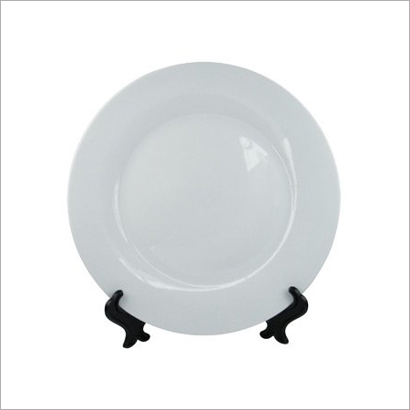 Home Decor Plain Ceramic Plate