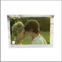 Customized Gift Glass Photo Frame